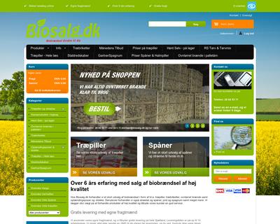 biosalg.dk website