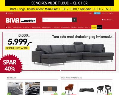 biva.dk website