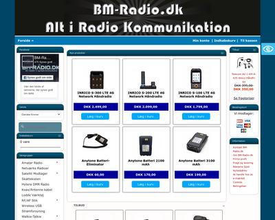 bmradio.dk website