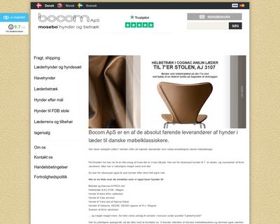 bocom.dk website