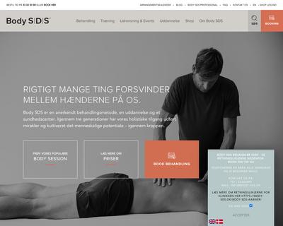 body-sds.dk website