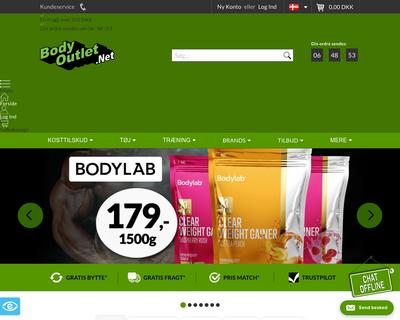 bodyoutlet.net website