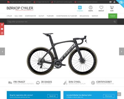boerkopcykler.dk website