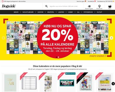 bog-ide.dk website