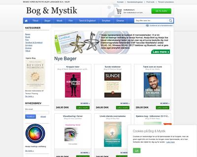 bog-mystik.dk website