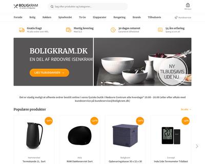 boligkram.dk website