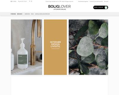 boliglover.dk website