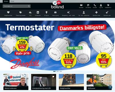 bolind.dk website