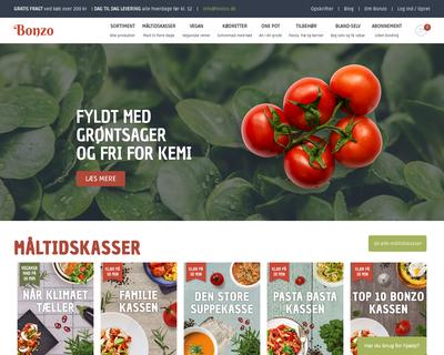bonzo.dk website
