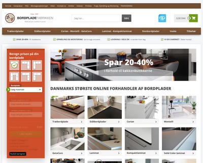 bordpladefabrikken.dk website