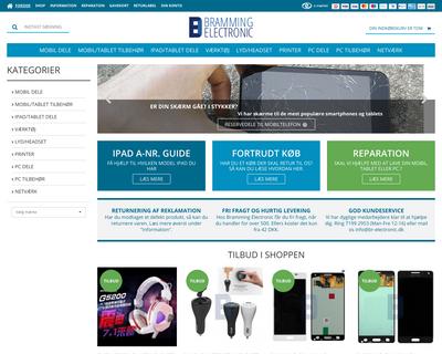 br-electronic.dk website
