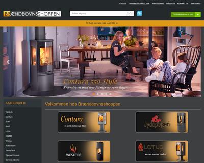 braendeovns-shoppen.dk website