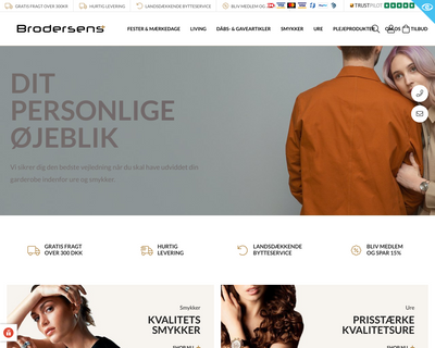 brodersens.dk website