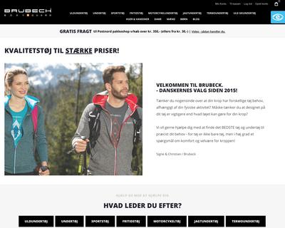 brubeck.dk website