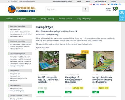 brugskunst.dk website