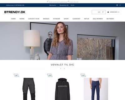 btrendy.dk website