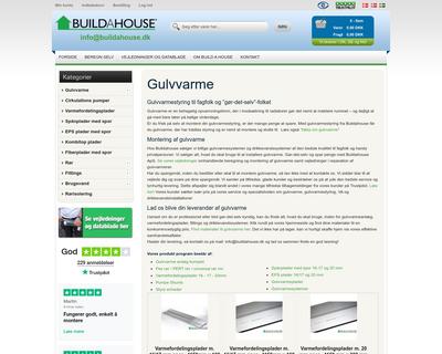 buildahouse.dk website