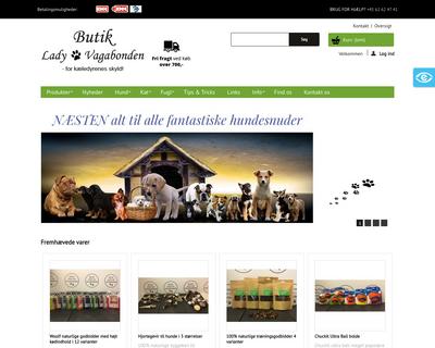 butik-ladyogvagabonden.dk website