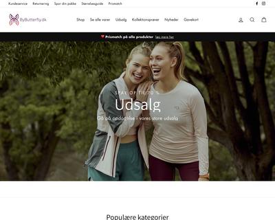 bybutterfly.dk website