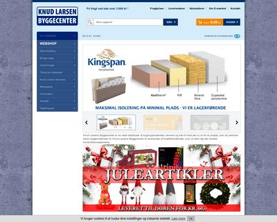 byggecenter.dk website