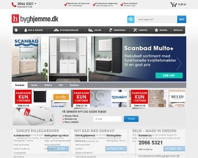 byghjemme.dk website