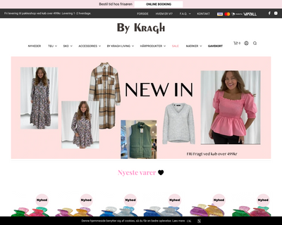 bykragh.dk website