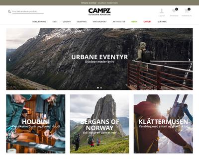 campz.dk website