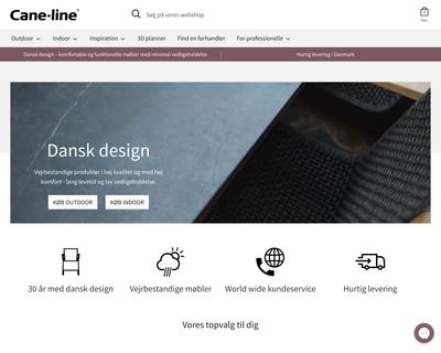 cane-line.dk website