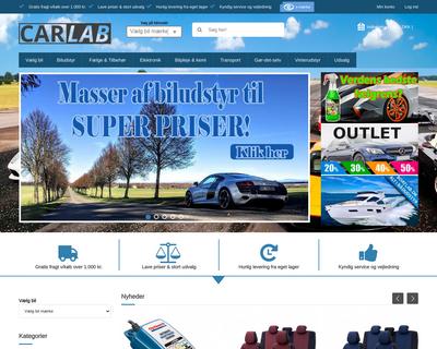 carlab.dk website