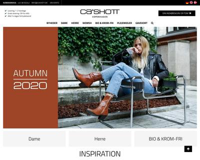 cashott.dk website