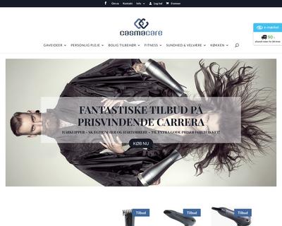 casmacare.dk website