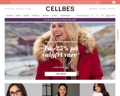 cellbes.dk website