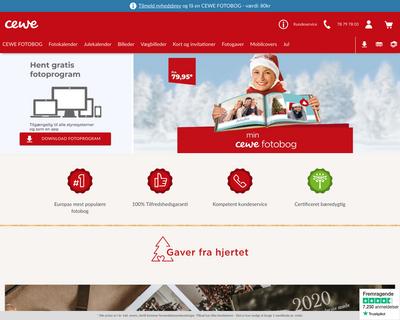 cewe.dk website