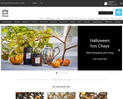 chaya.dk website