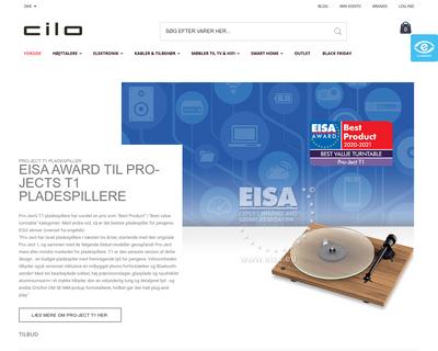 www.cilo.dk website