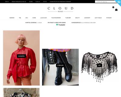 cloud-nine.dk website