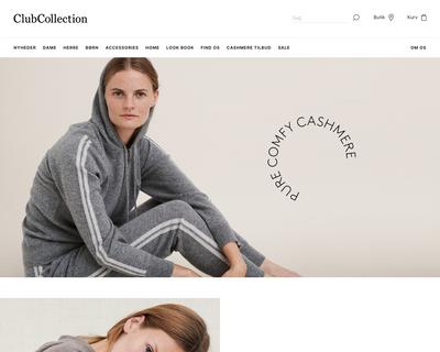 clubcollection.com website