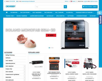 cnchobby.dk website