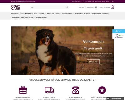 coatcare.dk website