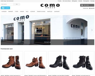 comoshoes.dk website