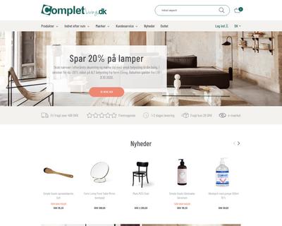 completliving.dk website