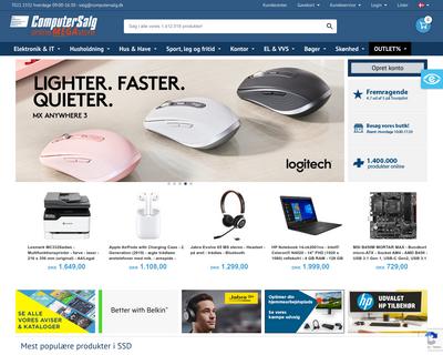 www.computersalg.dk website