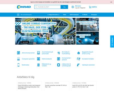 conradelektronik.dk website