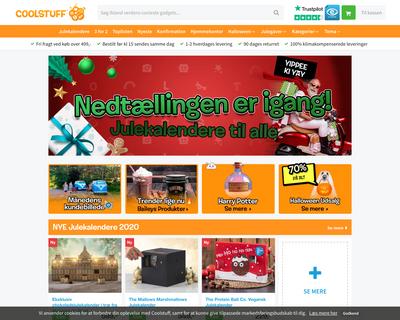 coolstuff.dk website