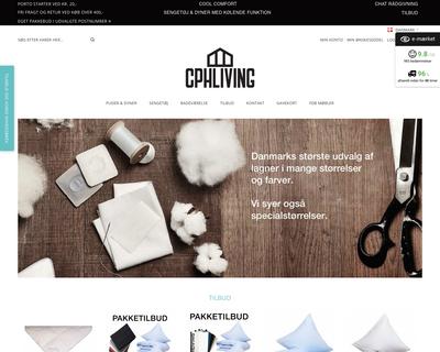 www.cphliving.dk website