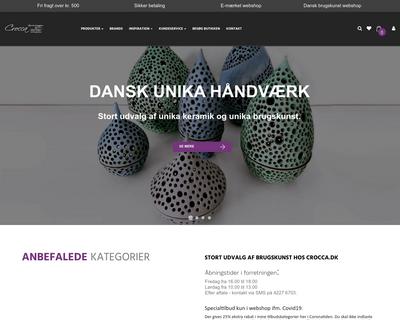 crocca.dk website