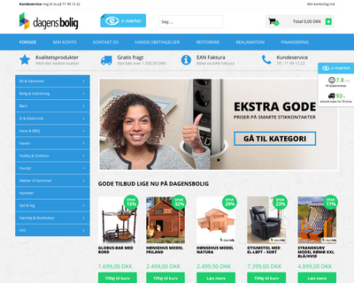 dagensbolig.dk website