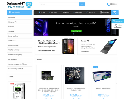 dalgaard-it.dk website