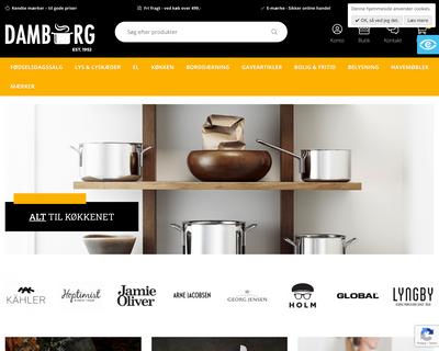 damborg.dk website