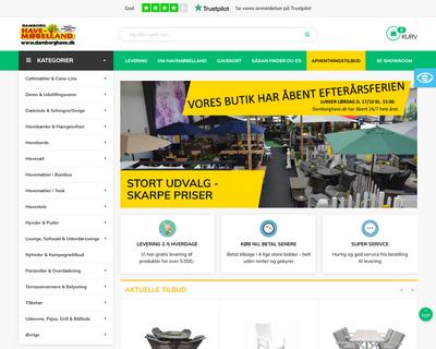 damborghave.dk website